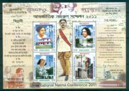 Bangladesh 2011 International Nazrul Conference MS MUH Lot82947 - Bangladesh