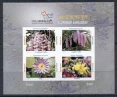 Bangladesh 2014 Philakorea, Flowers, Orchids IMPERF MS MUH - Bangladesh