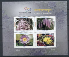 Bangladesh 2014 Philakorea, Flowers, Orchids MS MUH - Bangladesh