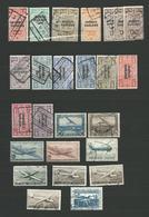 LOT 20 - 21 TIMBRES BELGIQUE 1928/58 Journaux Aeriennes Voir Scan - Journaux