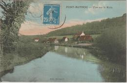 Pont Authou Vue Sur La Risle - France