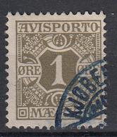 DENEMARKEN - Michel - 1907 - Nr 1 X (12 3/4) - Gest/Obl/Us - Fiscali