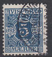 DENEMARKEN - Michel - 1907 - Nr 2 X (12 3/4) - Gest/Obl/Us - Fiscali