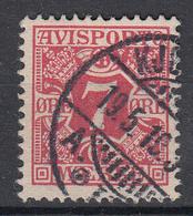 DENEMARKEN - Michel - 1907 - Nr 3 X (12 3/4) - Gest/Obl/Us - Fiscali