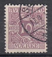 DENEMARKEN - Michel - 1907 - Nr 4 X (12 3/4) - Gest/Obl/Us - Fiscali