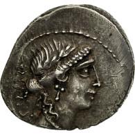 Monnaie, Acilia, Denier, Rome, TTB+, Argent, Crawford:442/1a - Roman