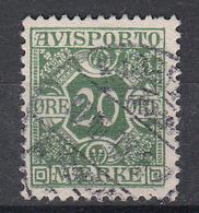 DENEMARKEN - Michel - 1907 - Nr 5 X (12 3/4) - Gest/Obl/Us - Fiscali