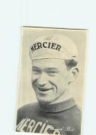 CYCLISME : PICOT Fernand - Equipe MERCIER - Carte Souple Pub. Belgian Chewing-gum - 2 Scans - Cyclisme