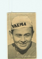 CYCLISME : DESMET Gilbert - Equipe FAEMA - Carte Souple Pub. Belgian Chewing-gum - 2 Scans - Cyclisme