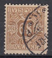 DENEMARKEN - Michel - 1907 - Nr 7 X (12 3/4) - Gest/Obl/Us - Fiscali