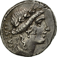 Monnaie, Acilia, Denier, Rome, SUP, Argent, Crawford:442/1a - Romaines