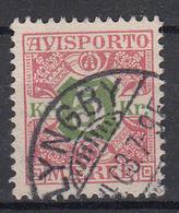 DENEMARKEN - Michel - 1907 - Nr 9 X (12 3/4) - Gest/Obl/Us - Fiscali