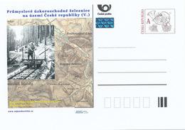 Rep. Ceca / Cart. Postali (Pre2015/09) Ferrovie Industriali A Scartamento Ridotto V. Rajnochovice Ferrovia Forestale (2) - Fabbriche E Imprese