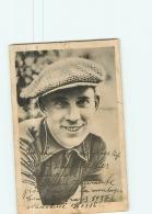 CYCLISME :  Felicien VERVAECKE - Tour De France 1937 - Carte Pub. Martini - En L' état -  2 Scans - Cyclisme
