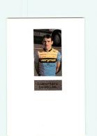 CYCLISME :  Giambattista BARDELLONI - Equipe VERINET - Lire Descriptif -  2 Scans - Cyclisme