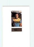 CYCLISME : Marco TABAI - Equipe VERINET - Lire Descriptif -  2 Scans - Cyclisme