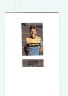 CYCLISME : Stefano BIANCHINI - Equipe VERINET - Lire Descriptif -  2 Scans - Cyclisme