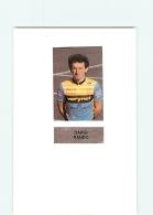 CYCLISME : Dario RANDO - Equipe VERINET - Lire Descriptif -  2 Scans - Cyclisme