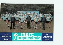 CYCLISME : Equipe Marc ZEEPCENTRALE 1978 Cycles SUPERIA  -  2 Scans - Cyclisme