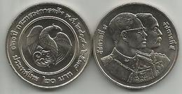 Thailand 20 Baht 1995. (2538) Y#298 120 Years Of Ministry Of Finance - Thailand