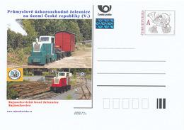 Rep. Ceca / Cart. Postali (Pre2015/10) Ferrovie A Scartamento Ridotto (V.) Rajnochovice, Ferrovia Forestale (3) - Fabbriche E Imprese