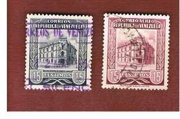 VENEZUELA  - SG 1367.1375   -  1954   G.P.O. CARACAS   -  USED° - Venezuela