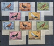 Bhutan 1968 Birds, Pheasants IMPERF MUH - Bhutan