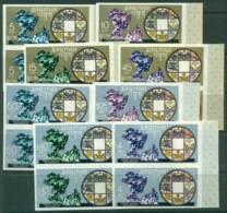 Bhutan 1969 UPU IMPERF Pairs MUH Lot21412 - Bhutan