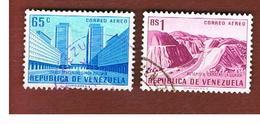 VENEZUELA  - SG 1414.1418   -  1956   PUBLIC WORKS   -  USED° - Venezuela