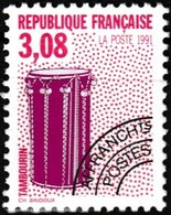 Timbre Préoblitéré Neuf** - Les Instruments De Musique (IV) Tambourin - N° 218 (Yvert) - France 1991 - Voorafgestempeld