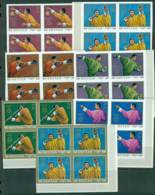 Bhutan 1972 Munich Olympics IMPERF Blk 4 MUH Lot21419 - Bhutan