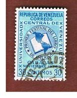 VENEZUELA  - SG 1424   -  1956   AMERICAN BOOK FESTIVAL   -  USED° - Venezuela