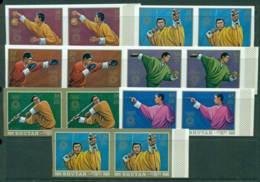 Bhutan 1972 Munich Olympics IMPERF Pairs MUH Lot21418 - Bhutan