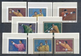Bhutan 1972 Summer Olympics, Munich IMPERF MUH - Bhutan
