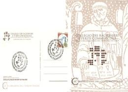 Castrocaro Forlì Annullo Speciale Collegio Ragionieri E Periti Commerciali - Kunst