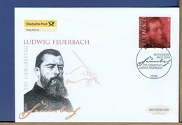 GERMANY - FDC 2004 - LUDWIG FEUERBACH  Filosofo - [7] West-Duitsland