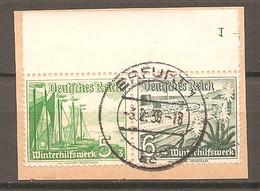 ZDR W 125 Mit Formnummer 1 - Gestempelt - Se-Tenant