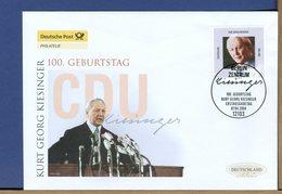 GERMANY - FDC 2004 - KURT GEORG KIESINGER - [7] West-Duitsland