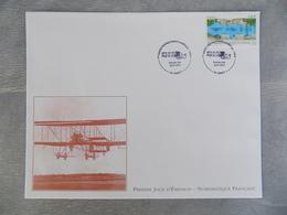 Premier Jour (FDC) Grand Format France 2012 : 1ère Liaison Postale Nancy-Luneville (poste Aérienne) - FDC