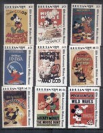 Bhutan 1989 Disney, Mickey Mouse 60th Asst (9/12) MUH - Bhutan