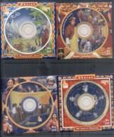 Bhutan 2007-09 CD Stamps, Coronation, Harmony, Happiness, Monarchy - Bhutan