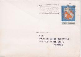 1965 GIORNATA FRANCOBOLLO £.15 Isolato. Su Partecipazione - 1961-70: Storia Postale