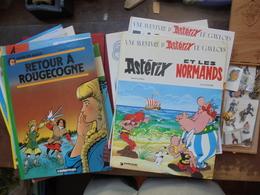 "8 BANDES DESSINEES(BON ETAT)+1 JEU NEUF+1 BOITE PINS ""TINTIN-MILOU"" Et DIVERS - Books, Magazines, Comics"