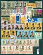 Brunei 1940's On Assorted Oddments MLH/FU Lot82358 - Brunei (1984-...)