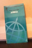 MONDOSORPRESA, (LB20) MAPPA AFRICA TRAVEL - BARTHOLOMEW - Carte Topografiche