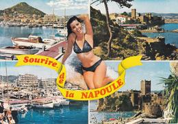 FRANCIA / FRANCE - 06 - Alpes Maritimes - Sourire De La Napoule - Pin Up - Bikini - Nude - Woman Sexy Pose - Charme-1973 - Cannes