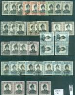 Brunei 1952on Sultan Omar Ali Saifuddin Wmk CA Assorted Oddments MLH/FU Lot82355 - Brunei (1984-...)