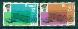 Brunei 1966 WHO Headquarters MUH Lot82336 - Brunei (1984-...)