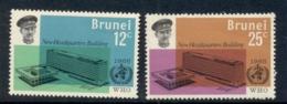 Brunei 1966 WHO HQ MLH - Brunei (1984-...)