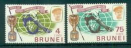 Brunei 1966 World Cup Soccer MUH Lot82333 - Brunei (1984-...)